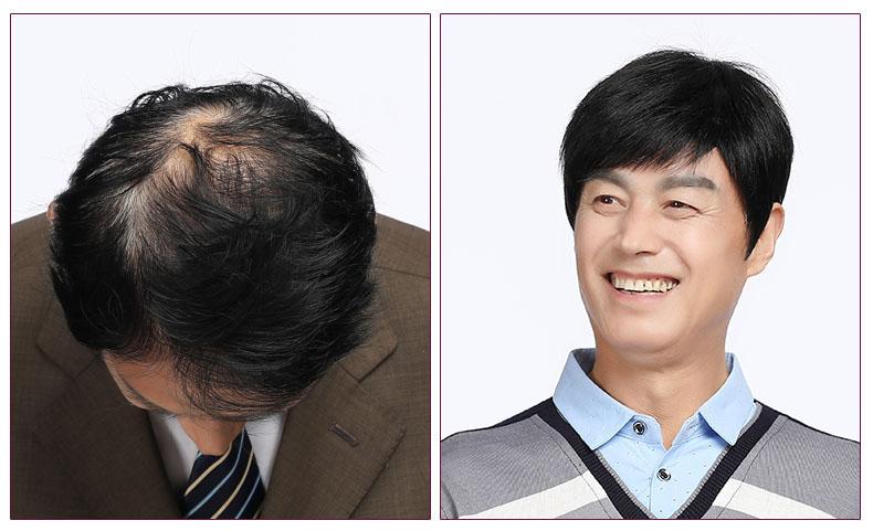 Tóc giản nam cao cao làm từ 100% tóc thật
