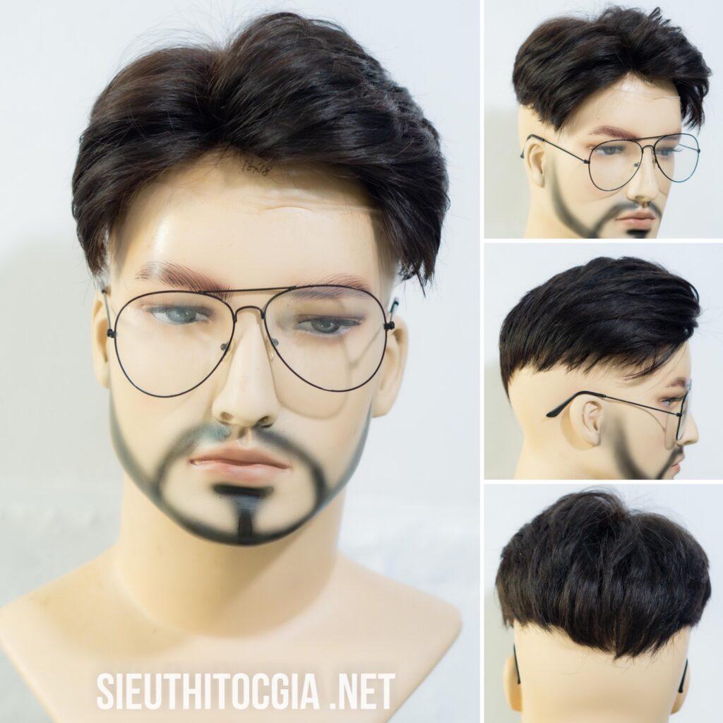 tóc phủ hói nam siêu da đầu